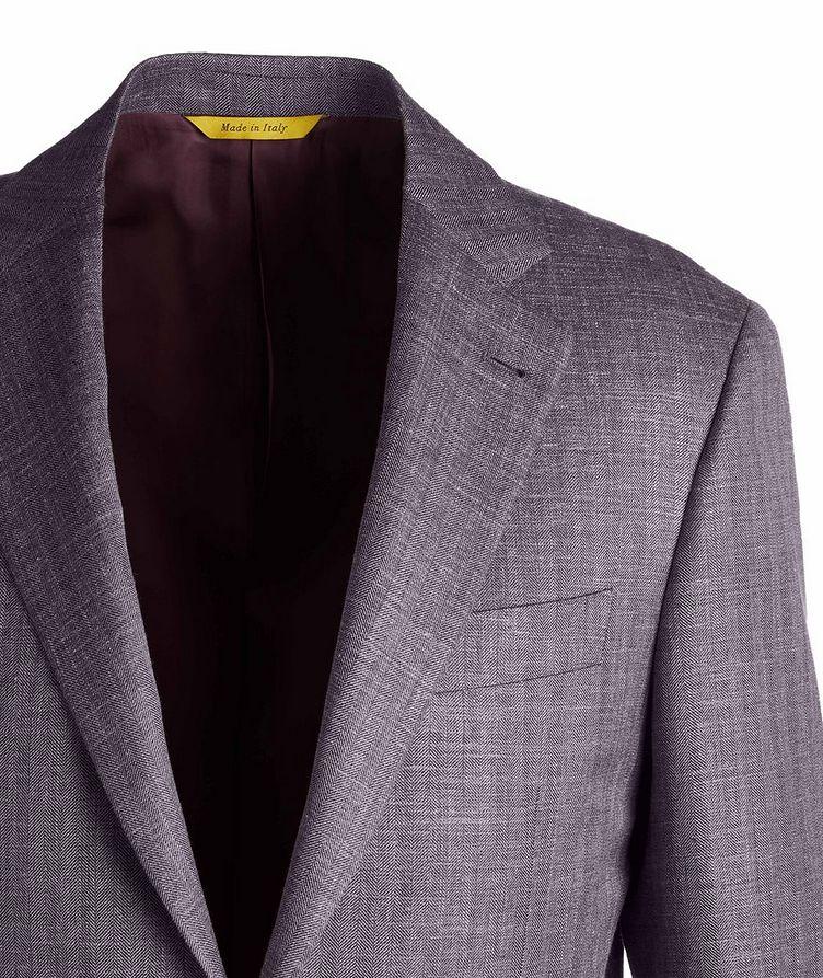 Slim Fit Wool-Silk Sports Jacket image 2