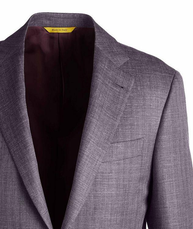 Slim Fit Wool-Silk Sports Jacket picture 3
