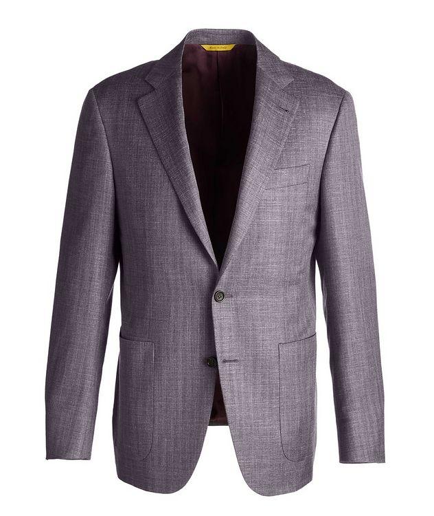 Slim Fit Wool-Silk Sports Jacket picture 1