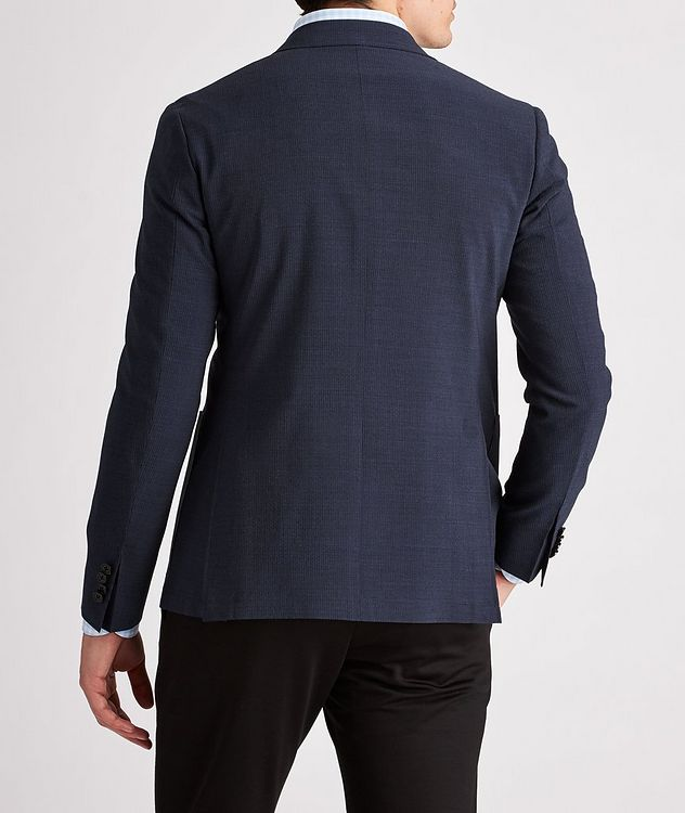Striped Stretch-Wool-Blend Sports Jacket picture 3
