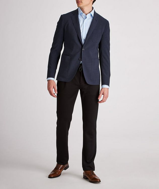 Striped Stretch-Wool-Blend Sports Jacket picture 5