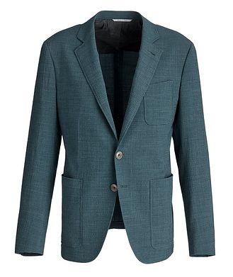 Canali Checked Seersucker Sports Jacket