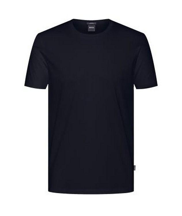 Mercerized Slim Fit Cotton T-Shirt picture 1