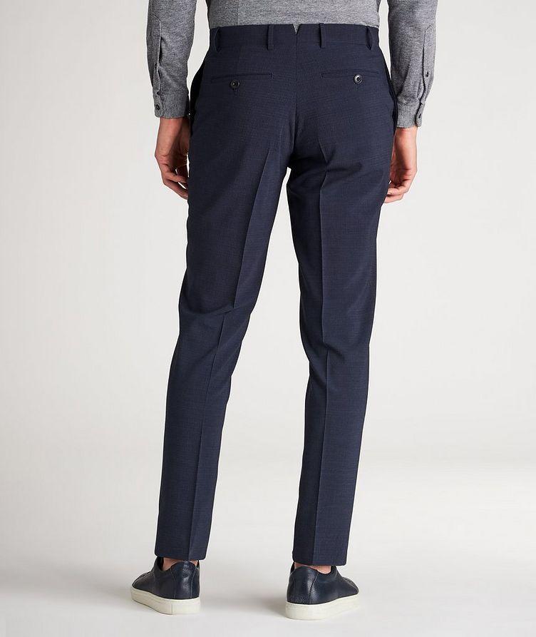 Slim Fit Pin Cord Seersucker Stretch-Wool Dress Pants image 2