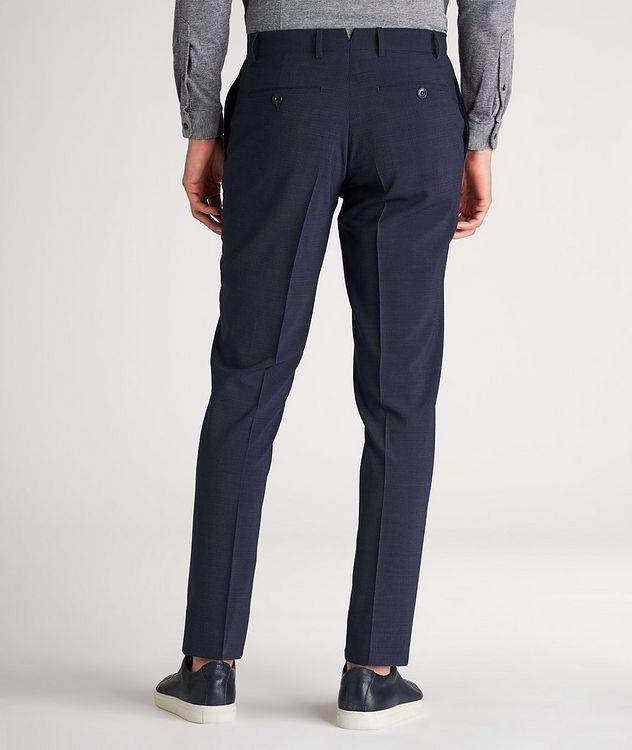 Slim Fit Pin Cord Seersucker Stretch-Wool Dress Pants picture 3