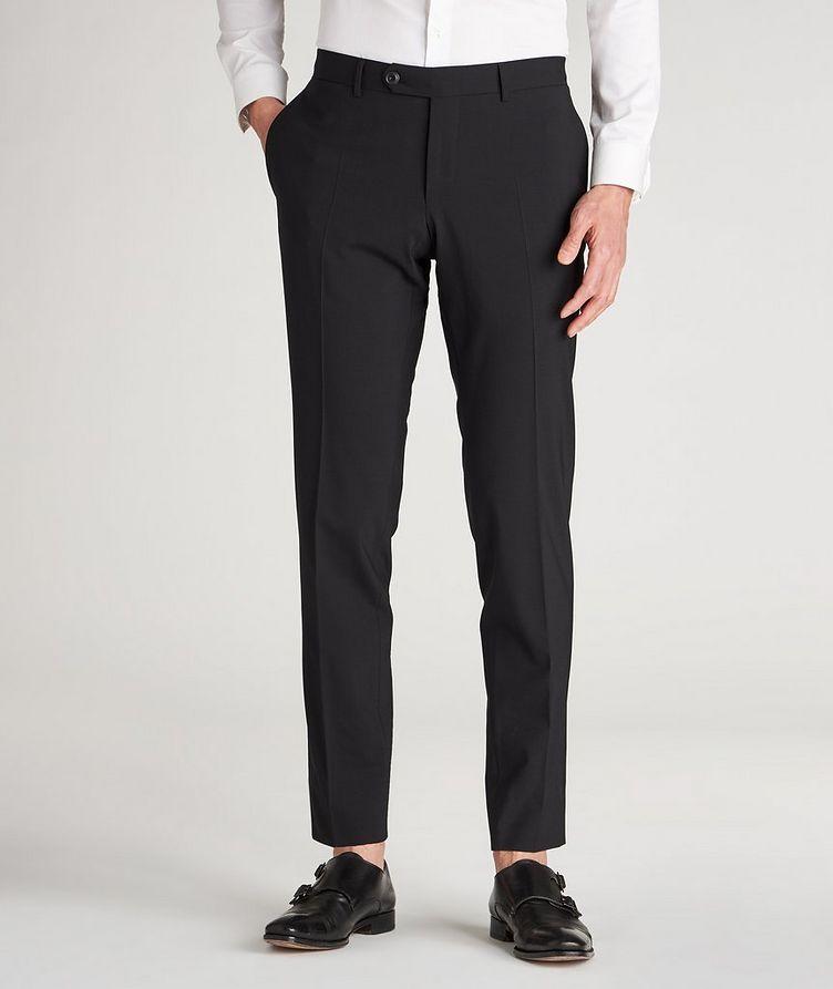 Pantalon habillé en lainage de coupe amincie image 1
