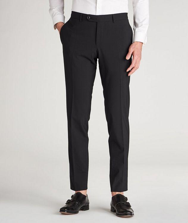 Pantalon habillé en lainage de coupe amincie picture 2