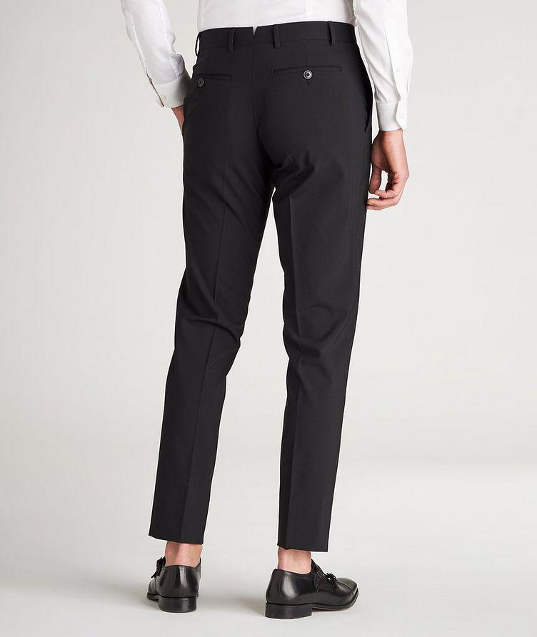 Pantalon habillé en lainage de coupe amincie image 2