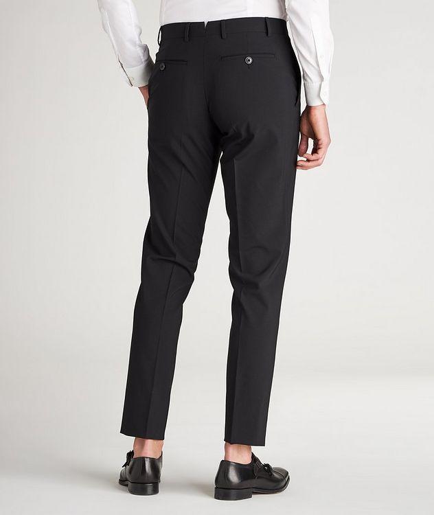 Pantalon habillé en lainage de coupe amincie picture 3