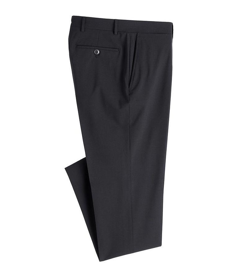 Slim Fit Wool Blend Dress Pants image 0