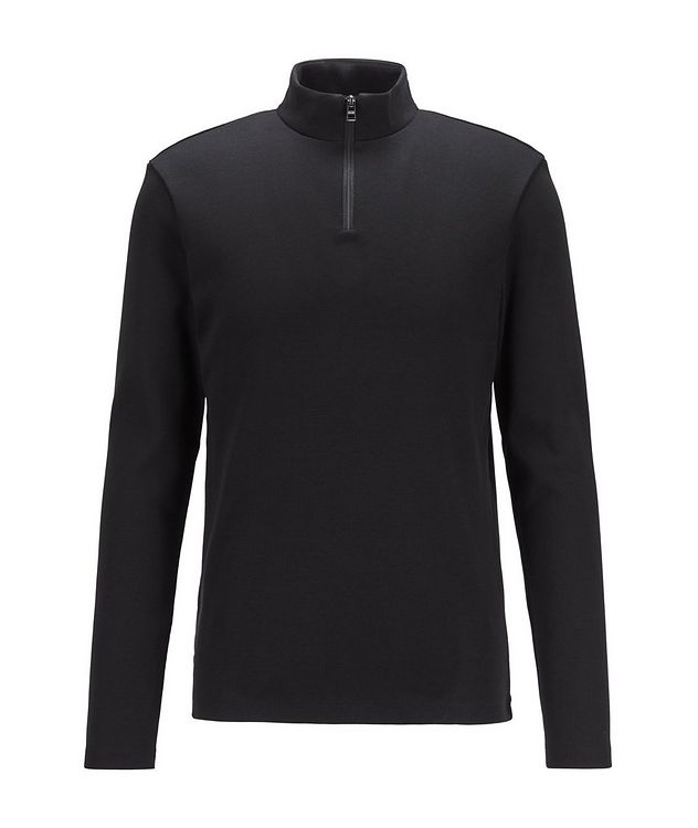 Quarter-Zip Turtleneck picture 1