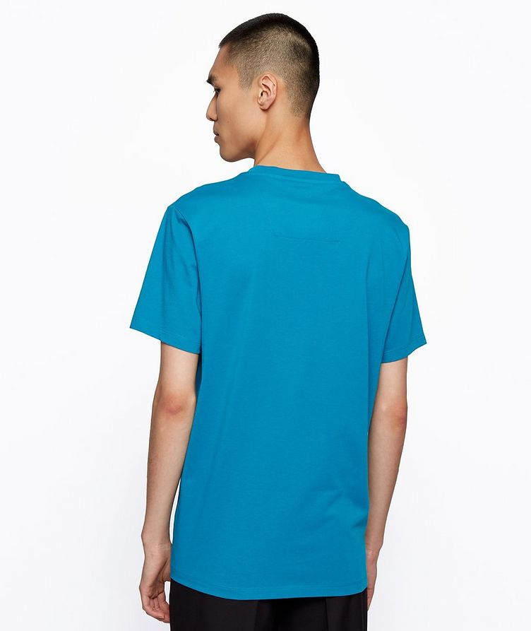 Single-Jersey Cotton Blend Logo T-Shirt image 2
