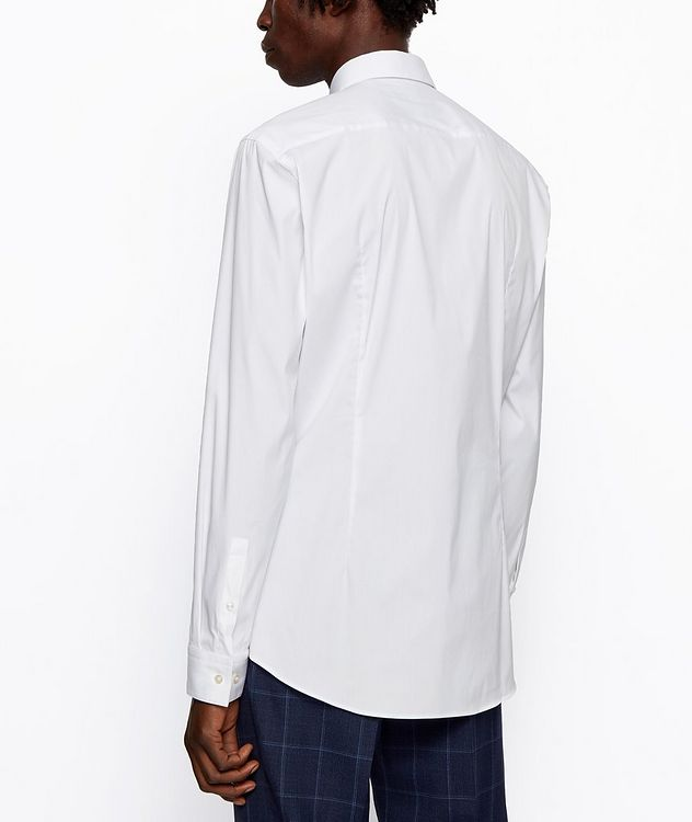 Slim-Fit Stretch-Cotton Dress Shirt picture 4