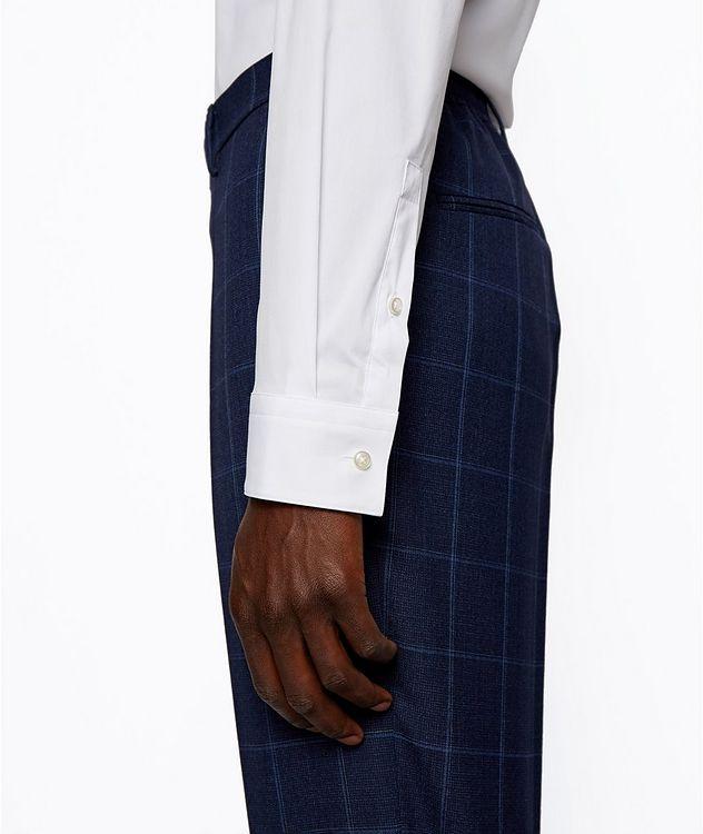 Slim-Fit Stretch-Cotton Dress Shirt picture 7