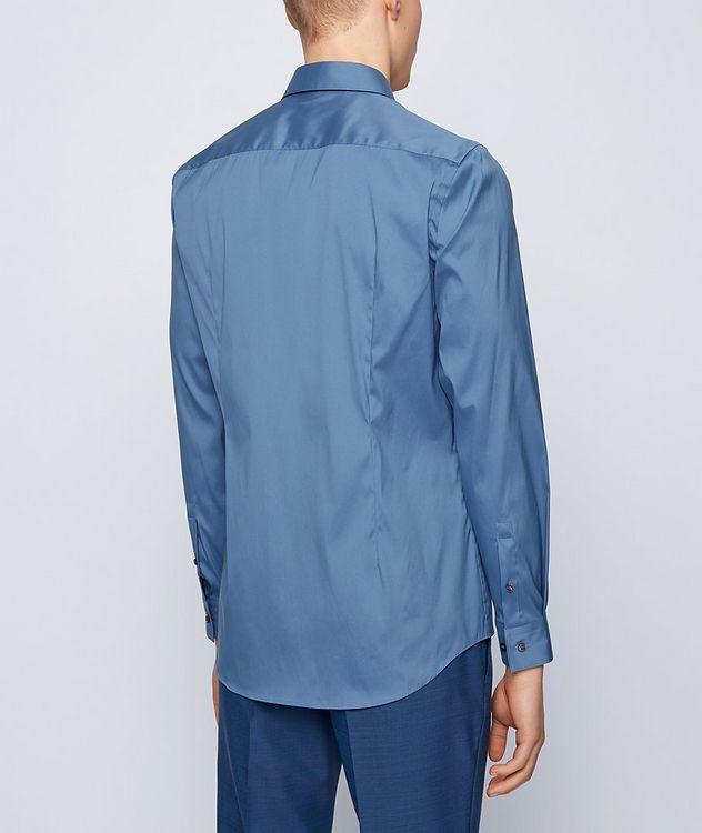 Slim-Fit Stretch-Cotton Dress Shirt picture 3