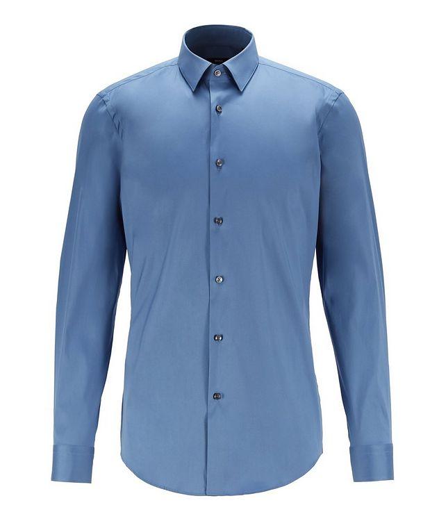Slim-Fit Stretch-Cotton Dress Shirt picture 1