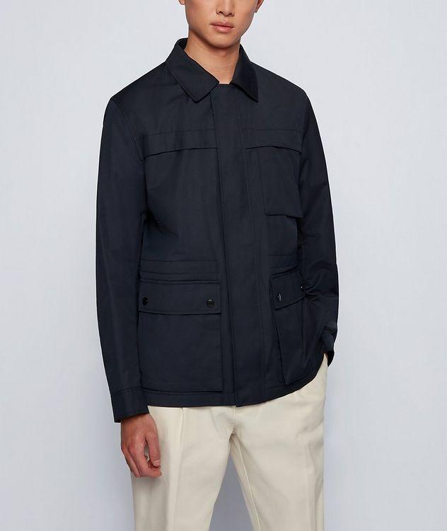 Cotton-Blend Field Jacket picture 2