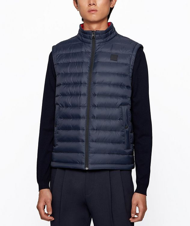 Water-Repellent Down Vest picture 2