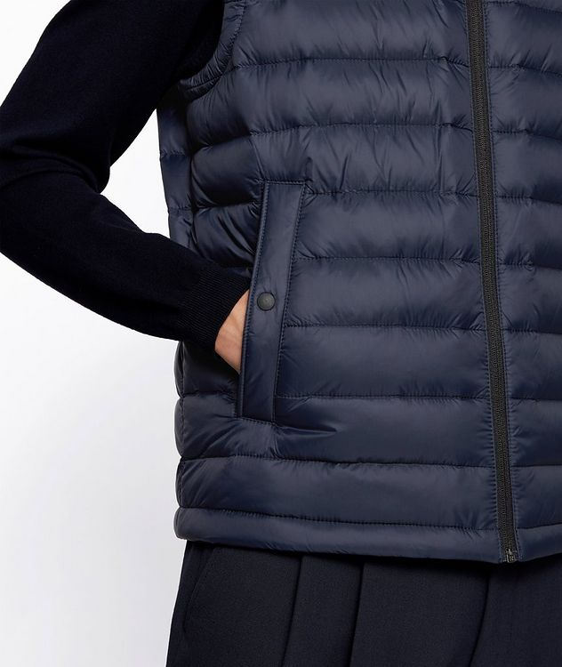 Water-Repellent Down Vest picture 6