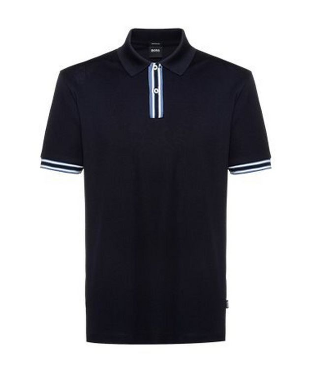 Parlay Mercerized Cotton Pique Polo picture 1