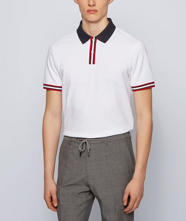 Parlay Mercerized Cotton Pique Polo picture 2
