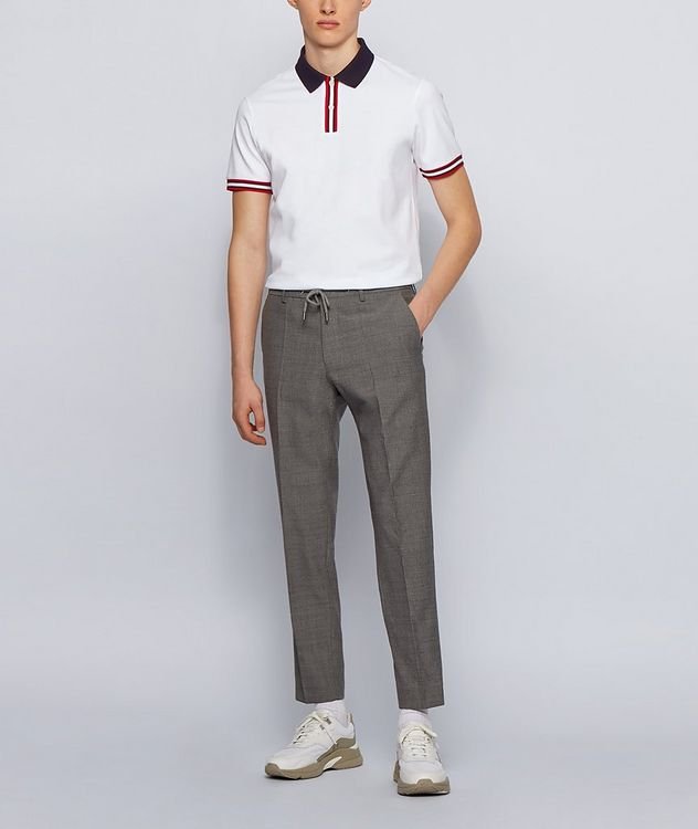Parlay Mercerized Cotton Pique Polo picture 4