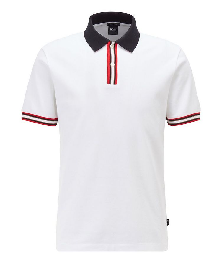 Parlay Mercerized Cotton Pique Polo image 0