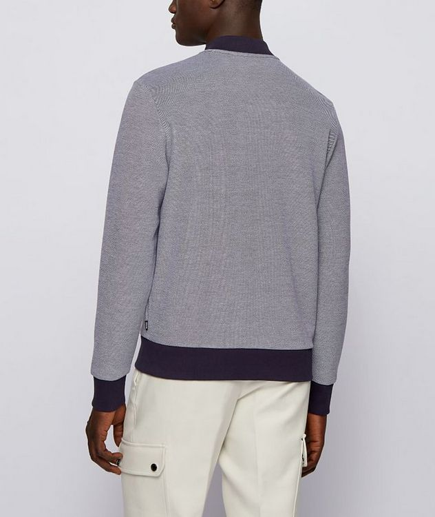 Skiles Double Knit Zip-Up Sweater picture 3