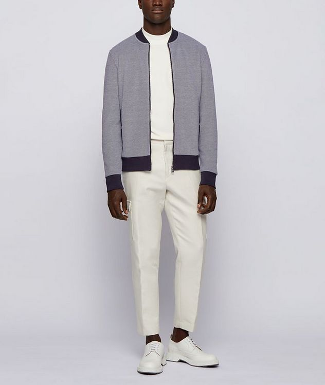 Skiles Double Knit Zip-Up Sweater picture 4