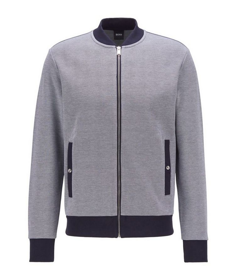 Skiles Double Knit Zip-Up Sweater image 0