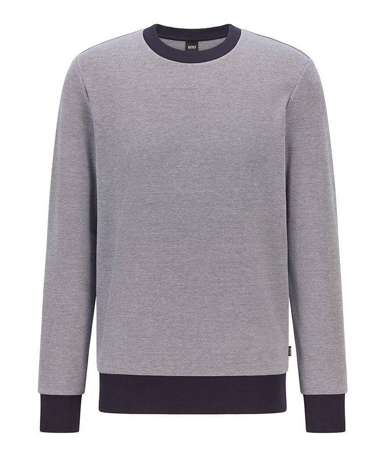 Knit Cotton Sweatshirt image 0