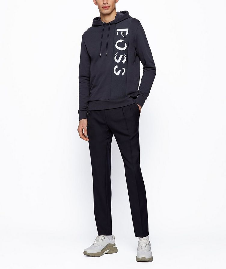 French-Terry Logo Hoodie image 3