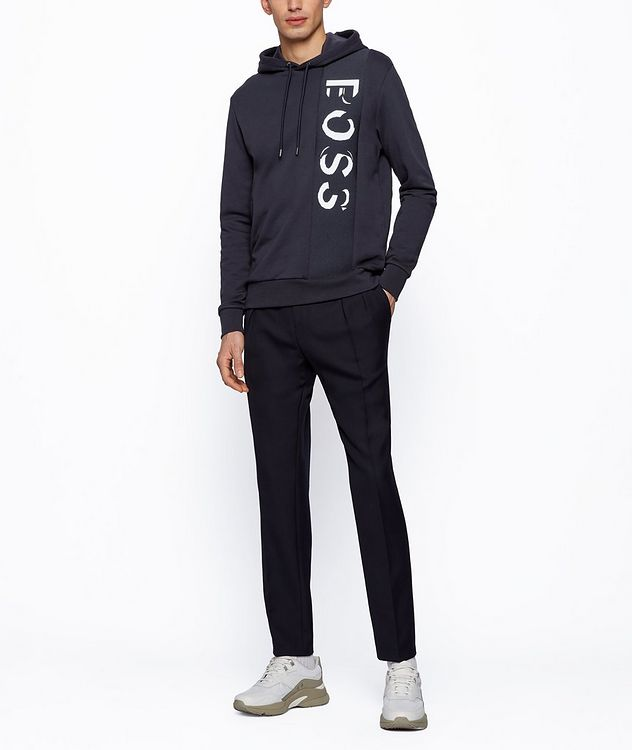 French-Terry Logo Hoodie picture 4
