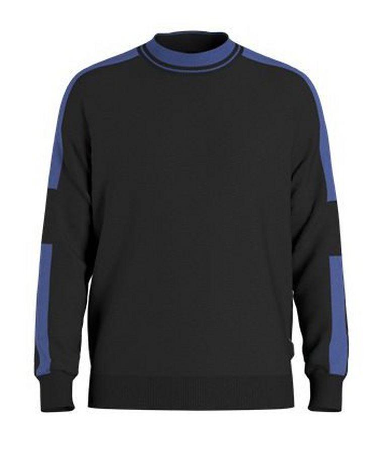 Paccardi Porsche Colour-Block Wool-Blend Sweater image 0