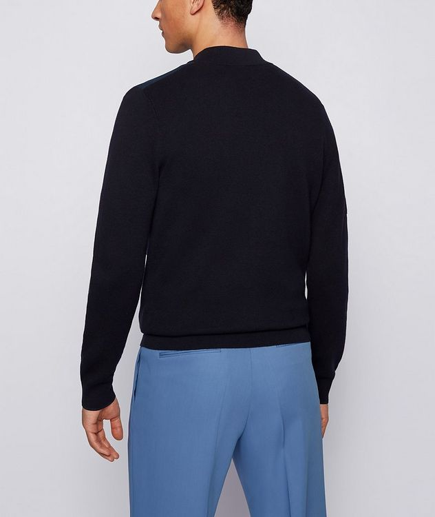 Cotton-Wool Zip-Up Cardigan picture 3