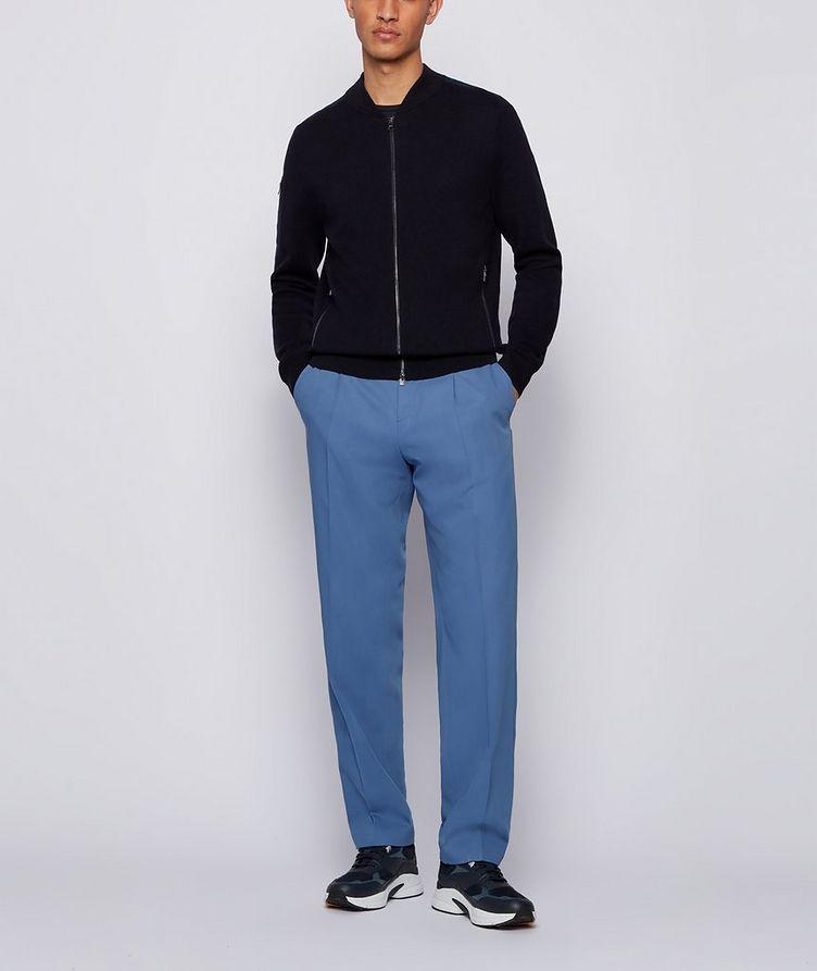 Cotton-Wool Zip-Up Cardigan image 3