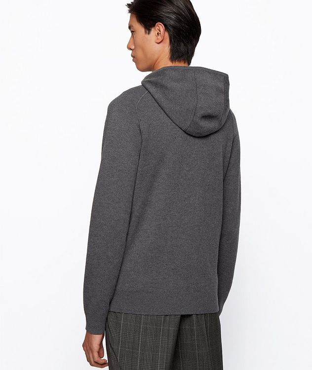Paoli Wool, Cotton, Cashmere Hooded Sweatshirt picture 3