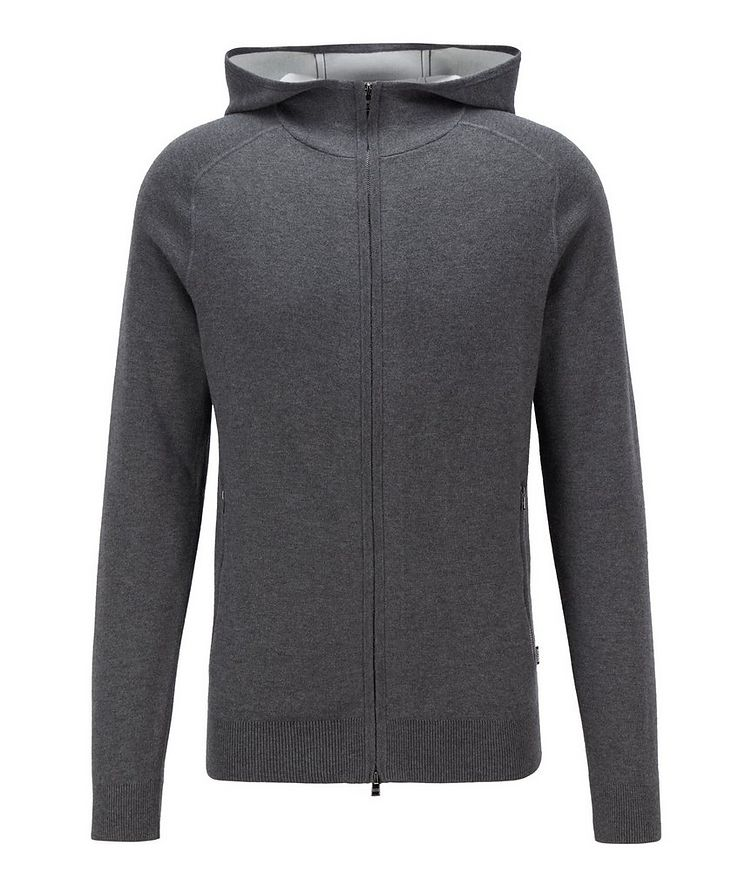 Paoli Wool, Cotton, Cashmere Hooded Sweatshirt image 0