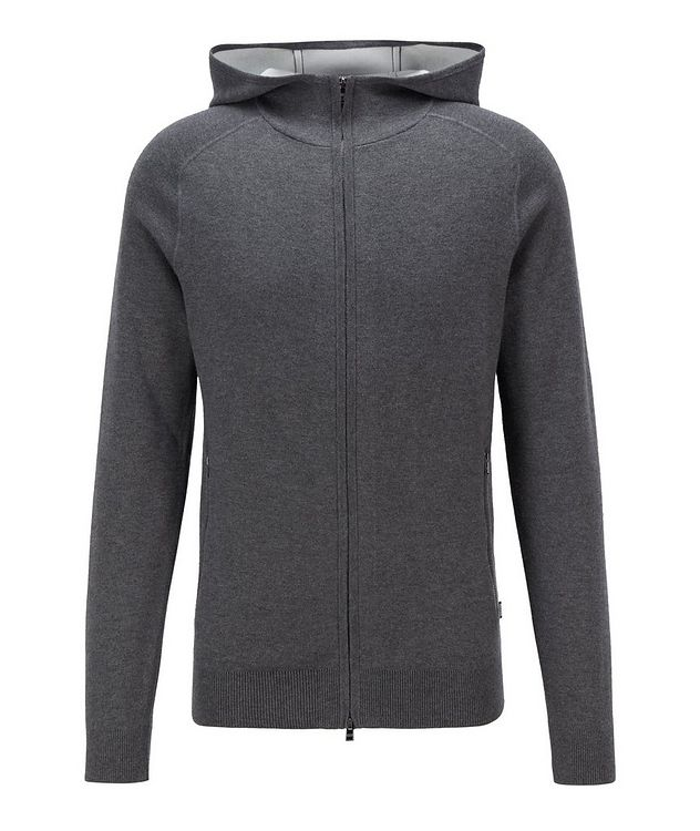 Paoli Wool, Cotton, Cashmere Hooded Sweatshirt picture 1