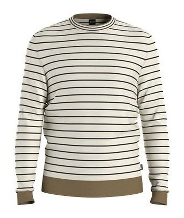 Peo Striped Cotton Sweater picture 1
