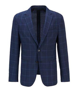 BOSS Nolvay1 Slim-Fit Windowpane Sports Jacket