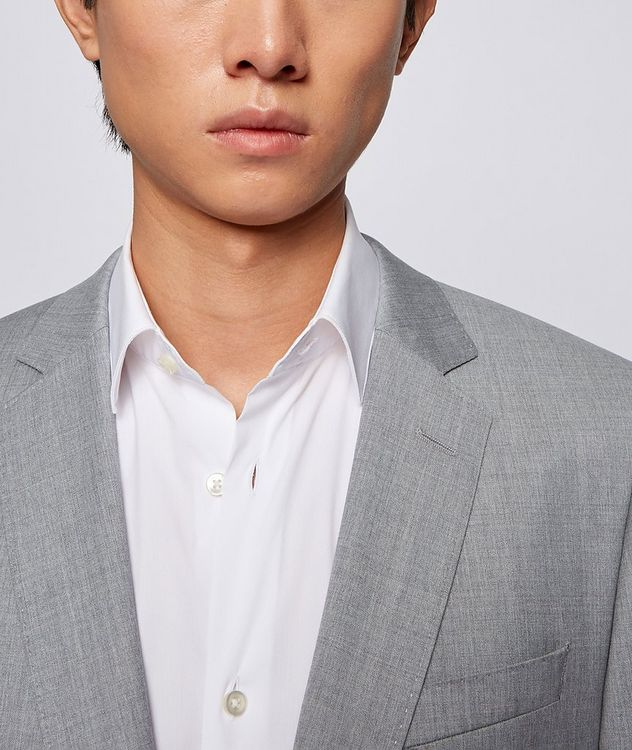 Slim-Fit Wool Suit picture 4
