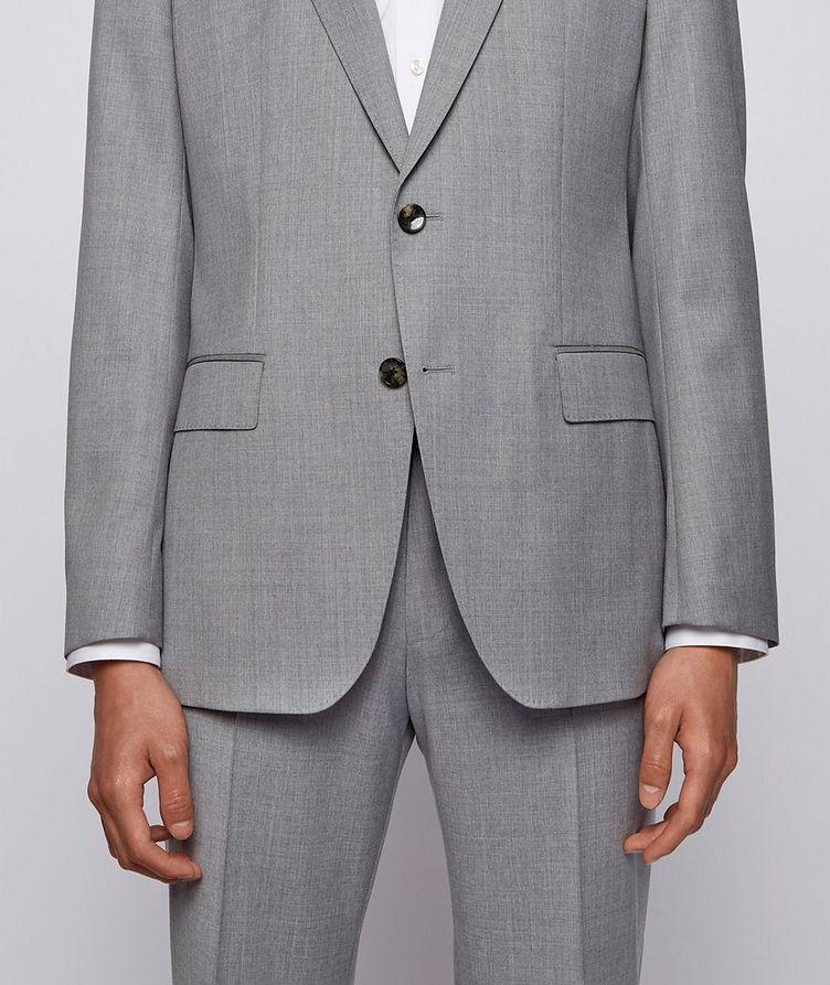 Slim-Fit Wool Suit image 4