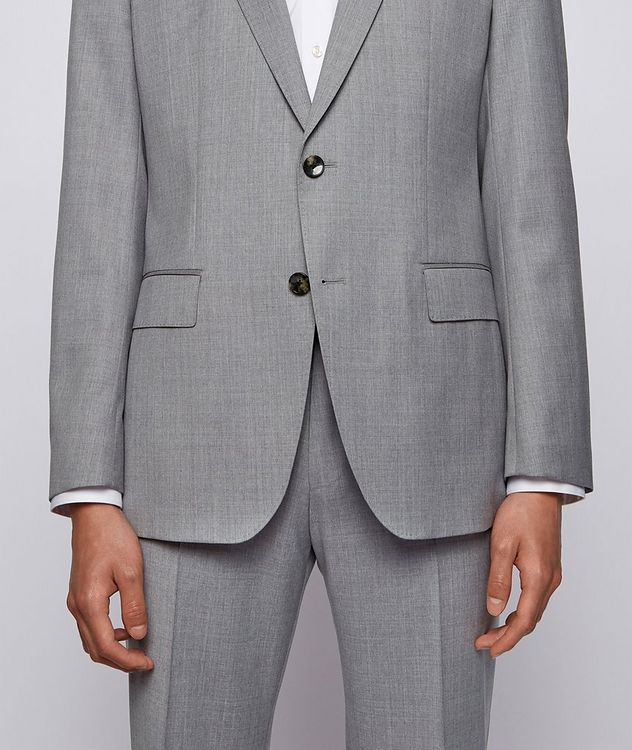 Slim-Fit Wool Suit picture 5