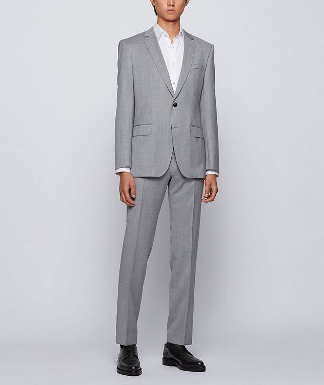 Slim-Fit Wool Suit picture 7