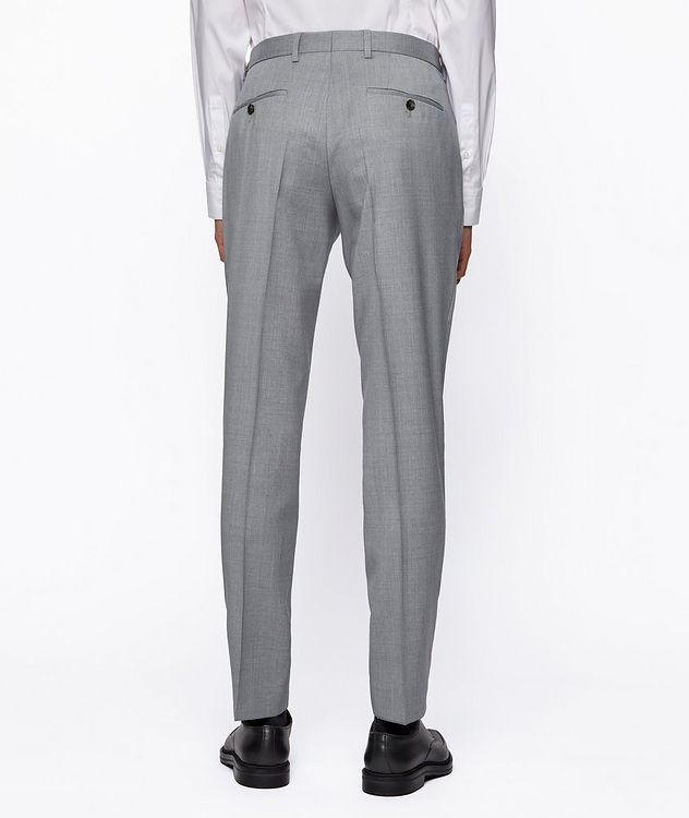 Slim-Fit Wool Suit picture 8