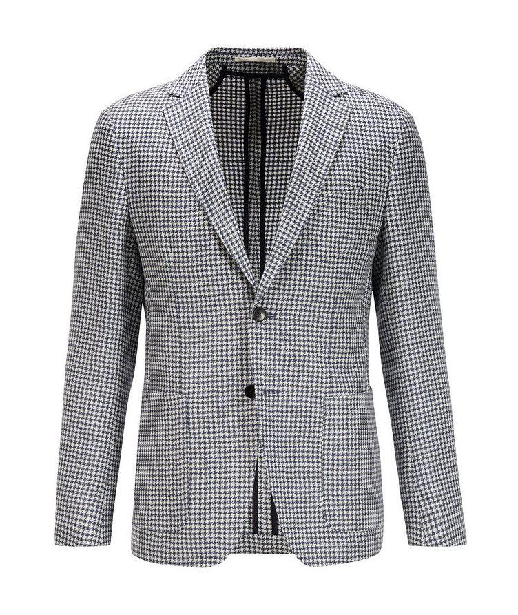 Nolvay Houndstooth Wool Sports Jacket image 0
