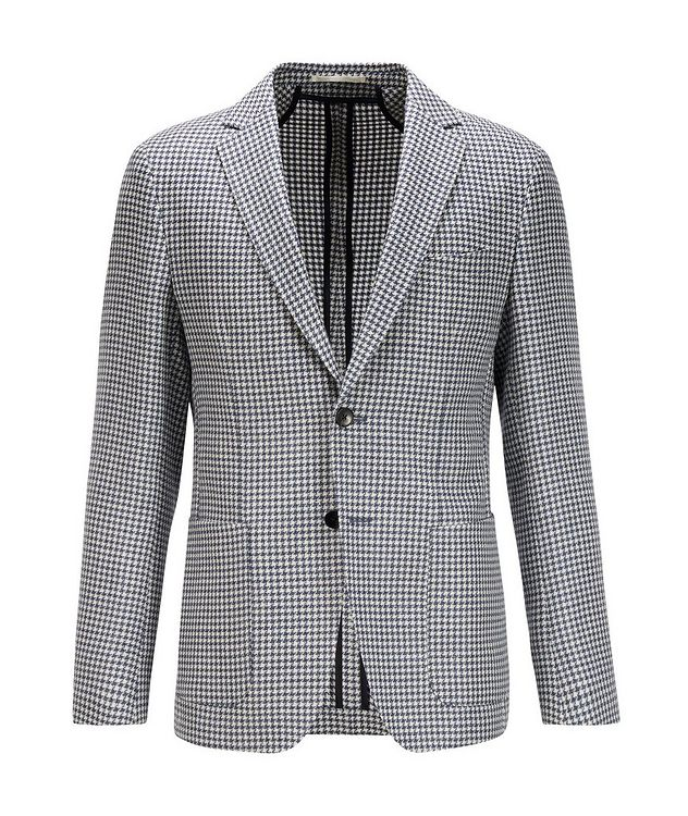 Nolvay Houndstooth Wool Sports Jacket picture 1
