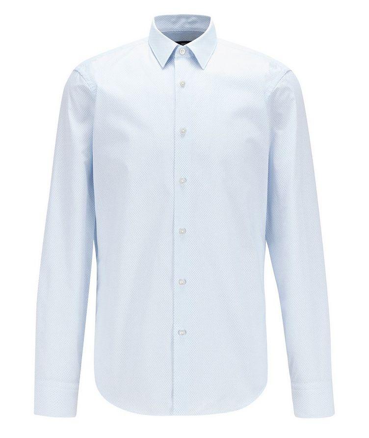 Eliott Cotton Micro-check Dress Shirt image 0