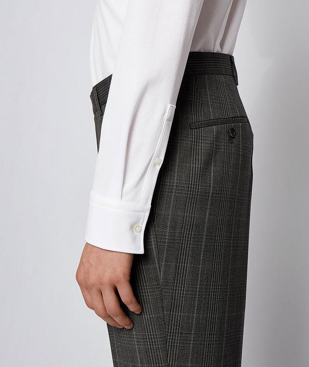 Slim-Fit Jersey Cotton Dress Shirt picture 3